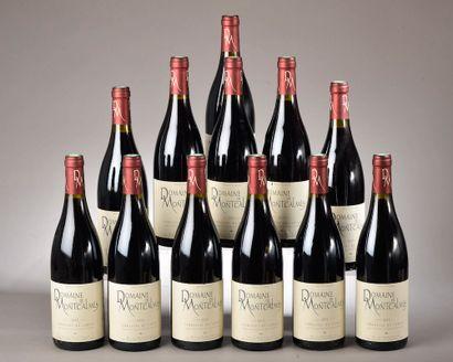 12 bouteilles TERRASSES DU LARZAC Montcalmes...