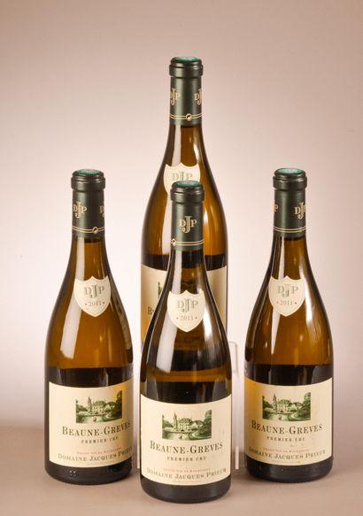 4 bouteilles BEAUNE