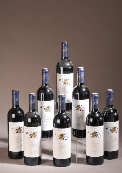 8 bouteilles CORNAS