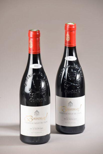 2 bouteilles CHÂTEAUNEUF-DU-PAPE