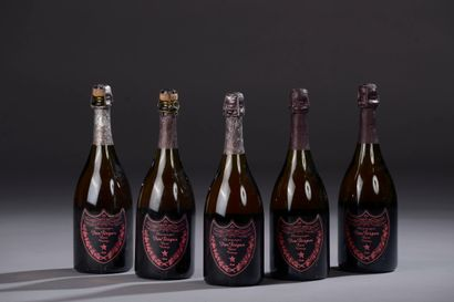 5 bouteilles CHAMPAGNE