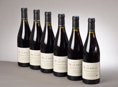 """6 bouteilles CÔTES CATALANES """"Terroir d'altitude"""", Le Soula 2012 (ela, elt)"""