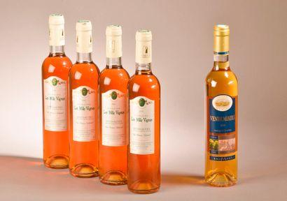 4 demi-litres RIVESALTES Les Mille Vignes...