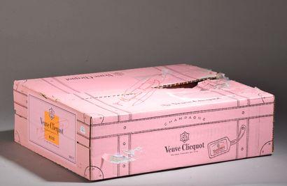 3 magnums CHAMPAGNE rosé, Veuve Clicquot