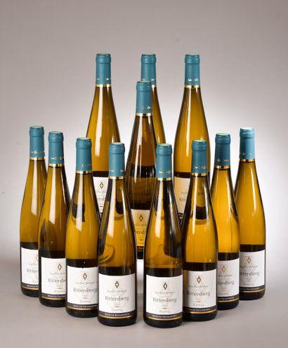 12 bouteilles RIESLING JP Schmitt 2014