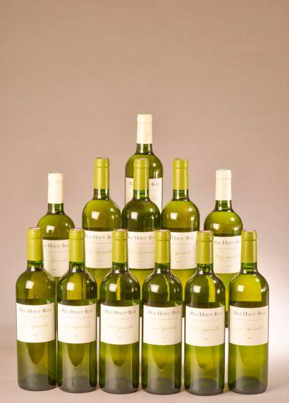 12 bouteilles VDP DE L'HÉRAULT, Mas Haut-Buis...