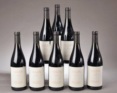 8 bouteilles LANGUEDOC