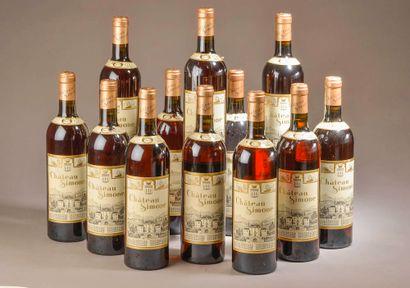 12 bouteilles PALETTE rosé, Château Simone...