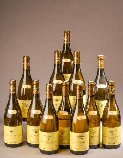 12 bouteilles PULIGNY-MONTRACHET F. Carillon...