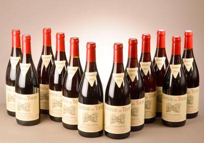 12 bouteilles CÔTES-DU-RHÔNE Château des...