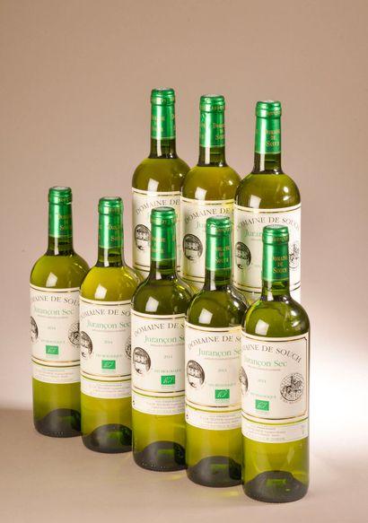 8 bouteilles JURANCON sec, Domaine de Souch...