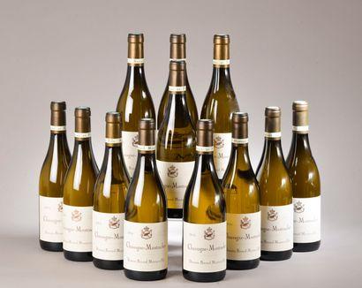 12 bouteilles CHASSAGNE-MONTRACHET B. Moreau...
