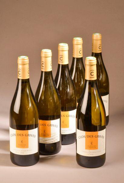 6 bouteilles CROZES-HERMITAGE