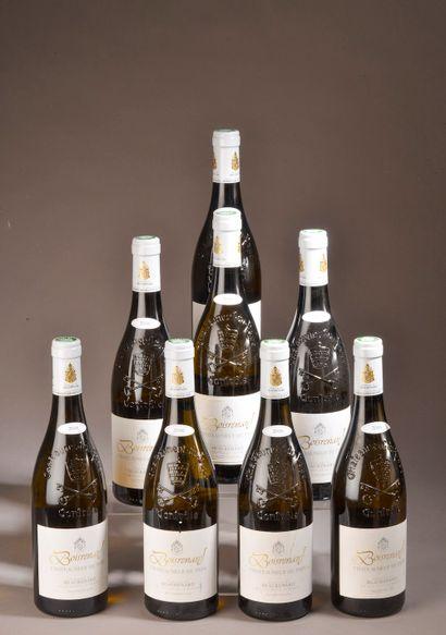 8 bouteilles CHÂTEAUNEUF-DU-PAPE