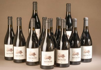 """12 bouteilles MAURY """"sec"""", Domaine des Capitelles 2016 (Vieux Solitaire Grande ..."""