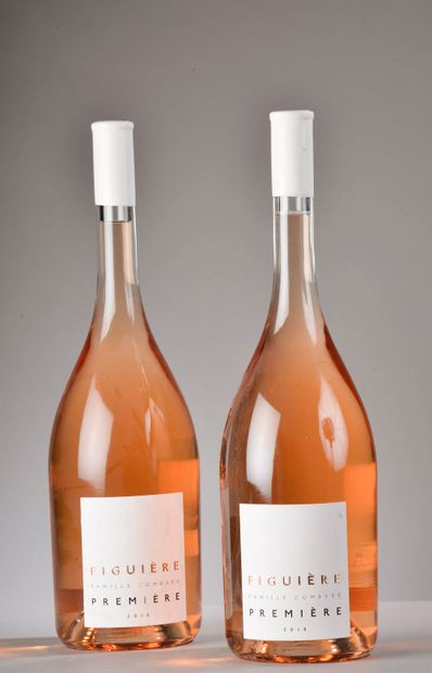 2 jéroboams CÔTES DE PROVENCE rosé, Figuière 2018