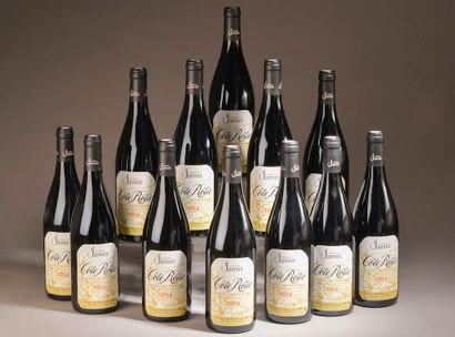 12 bouteilles CÔTE-RÔTIE Jamet 2014