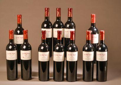 12 bouteilles FITOU Les Mille Vignes 2016...
