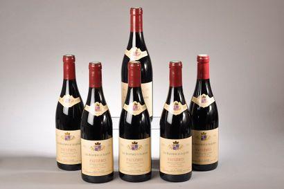 """6 bouteilles FAUGÈRES """"Les Bastides d'Alquier"""", Alquier 2015"""