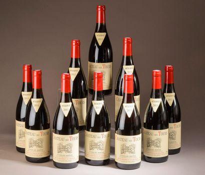 10 bouteilles CÔTES-DU-RHÔNE