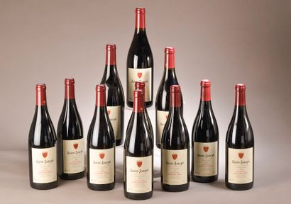 11 bouteilles SAINT-JOSEPH