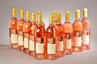 """12 bouteilles CÔTES DE PROVENCE """"cuvée Clarendon"""", Gavoty 2017"""
