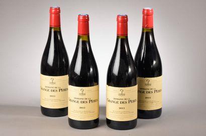 4 bouteilles VDP DE L'HÉRAULT, La Grange...