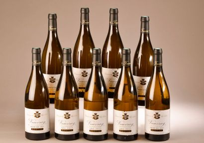 9 bouteilles VOUVRAY