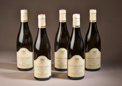 5 bouteilles NUITS-ST-GEORGES