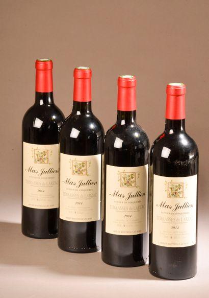 4 bouteilles TERRASSES DU LARZAC