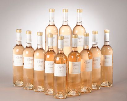 """12 bouteilles CÔTES DE PROVENCE """"Éloge rosé"""", Domaine de la Croix 2018"""