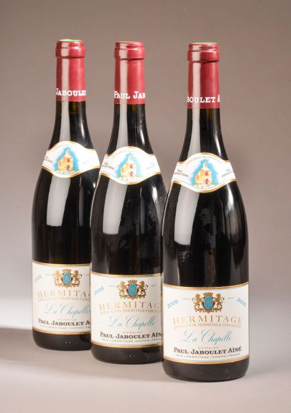 3 bouteilles HERMITAGE