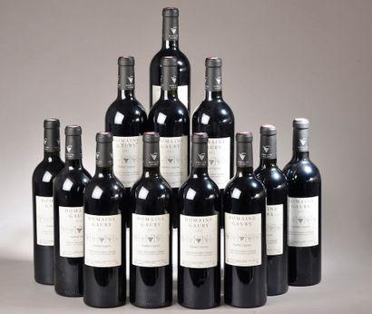 """12 bouteilles CÔTES DU ROUSSILLON """"V.V."""", Domaine Gauby 2012"""