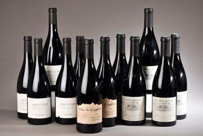 12 bouteilles LANGUEDOC (5 Les Clos Perdus...