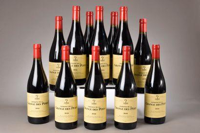 12 bouteilles VDP DE L'HÉRAULT, La Grange...