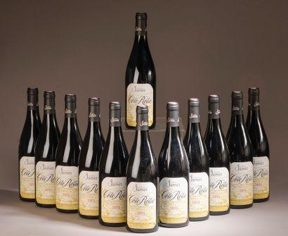 12 bouteilles CÔTE-RÔTIE Jamet 2015