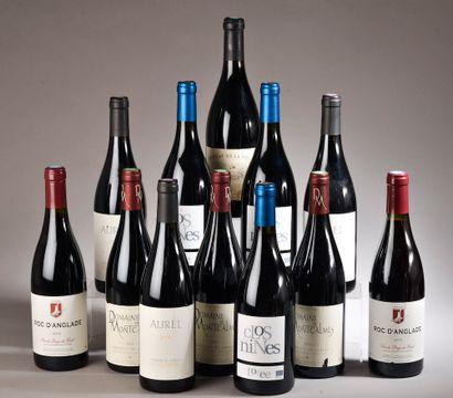 12 bouteilles LANGUEDOC (3 L'Orée 2016,...