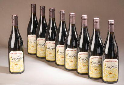 9 bouteilles CÔTE-RÔTIE Jamet 2011