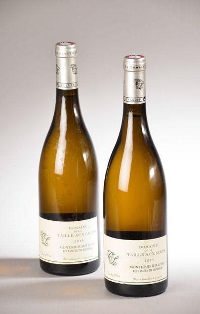 2 bouteilles MONTLOUIS