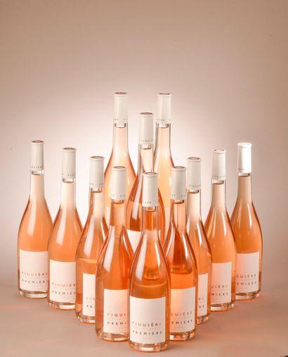 12 bouteilles CÔTES DE PROVENCE rosé, Figuière 2018