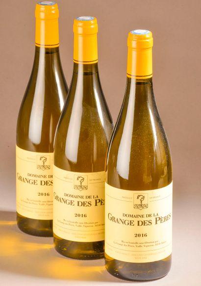 3 bouteilles VDP DE L'HÉRAULT, La Grange...