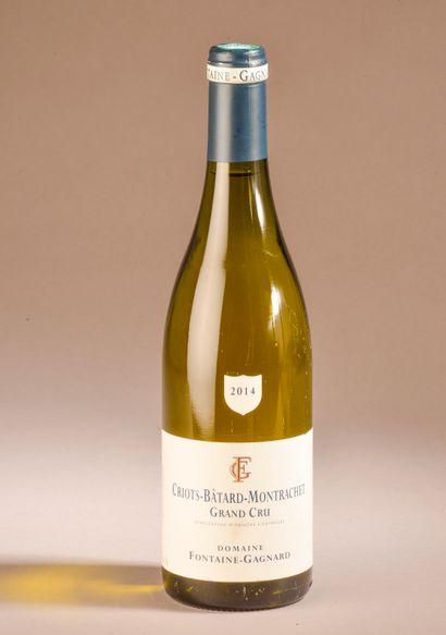 1 bouteille CRIOTS-BÂTARD-MONTRACHET, Fontaine-Gagnard...