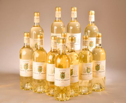 12 bouteilles BANDOL blanc, Pibarnon 2018