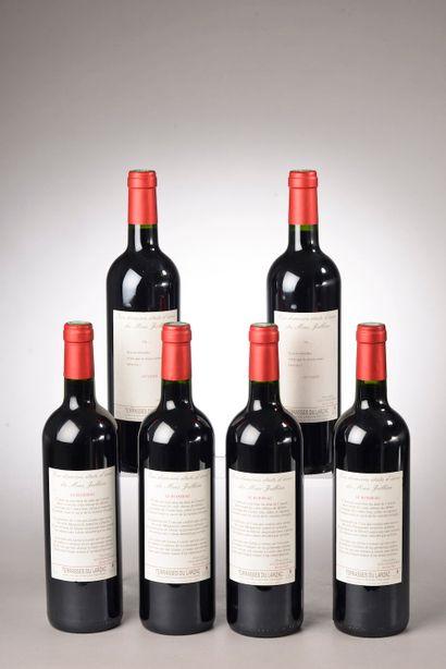 6 bouteilles TERRASSES DU LARZAC