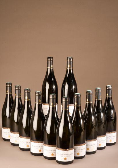 12 bouteilles PULIGNY-MONTRACHET