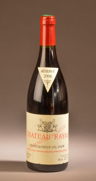1 bouteille CHÂTEAUNEUF-DU-PAPE Rayas 2006...
