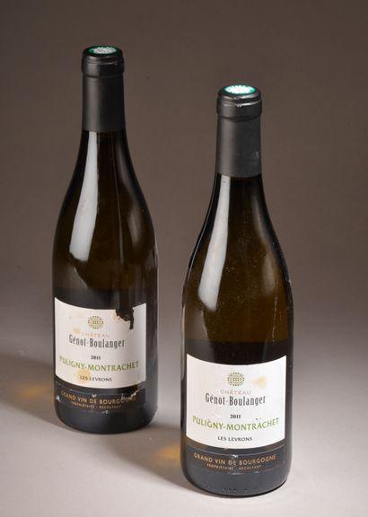2 bouteilles PULIGNY-MONTRACHET