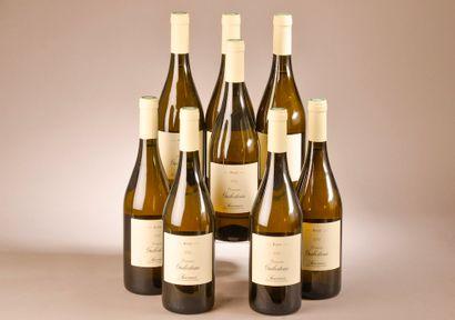 8 bouteilles SAUMUR