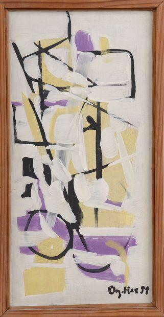 *Jean DEGOTTEX (1918-1988). Composition....