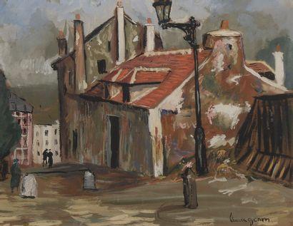 *Lucien GÉNIN (1894-1953). La maison de...
